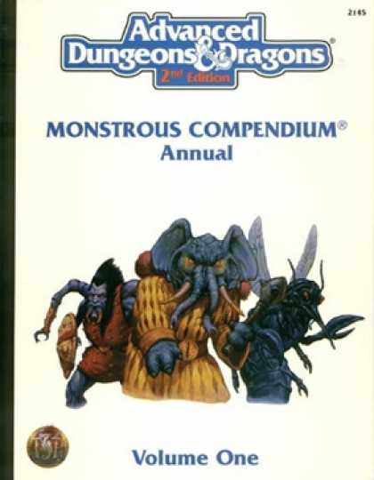 Role Playing Games - Monstrous Compendium Annual Vol. 1