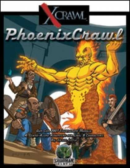 Role Playing Games - Xcrawl: PhoenixCrawl (level 8 adventure)