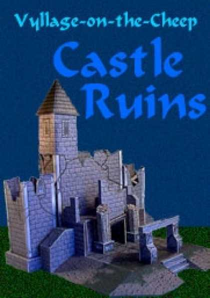 Role Playing Games - Vyllage-on-the-Cheep COLOR Castle Ruins