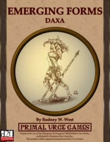 Role Playing Games - Emerging Forms - Daxa