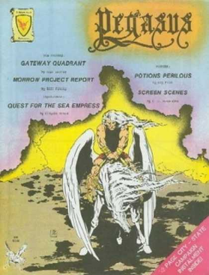 Role Playing Games - Pegasus Magazine V (Dec-Jan 1982)