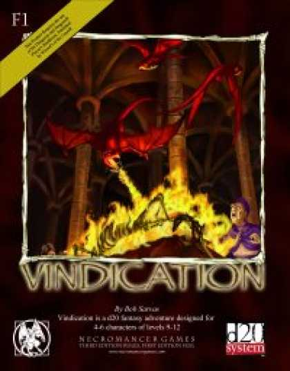 Role Playing Games - Vindication