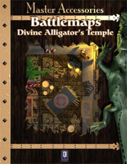 Role Playing Games - Battlemaps: Divine Alligator's Temple