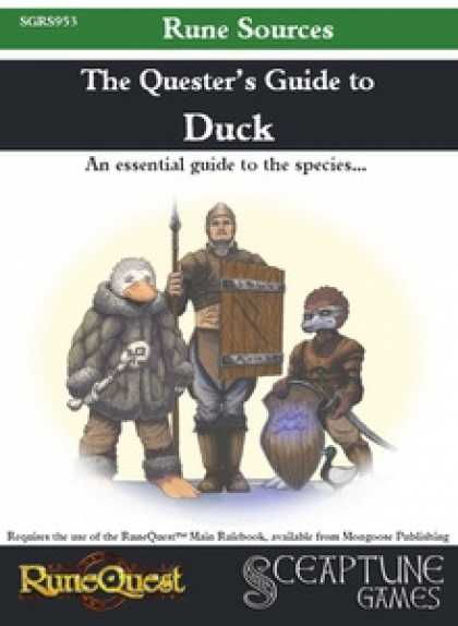 Role Playing Games - The Quester's Guide to Duck