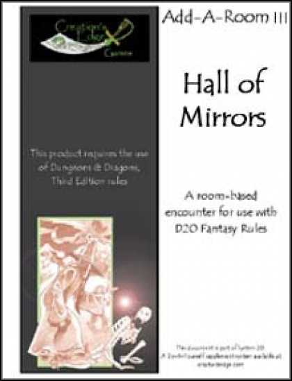 Role Playing Games - Add-A-Room III: Hall of Mirrors