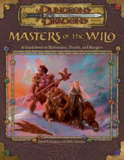Role Playing Games - Masters of the Wild