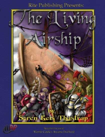 Role Playing Games - The Living Airship