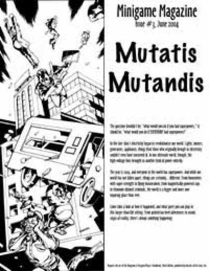 Role Playing Games - Mutatis Mutandis (Minigame issue #3)