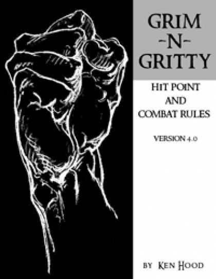 Role Playing Games - Grim-n-Gritty Hit Point and Combat Rules, Version 4.0