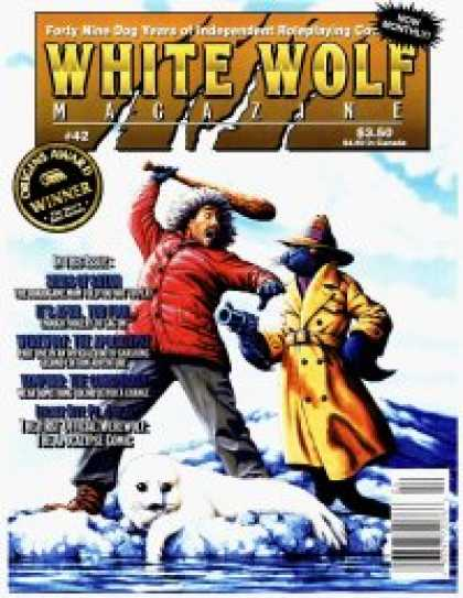 Role Playing Games - White Wolf Magazine #42