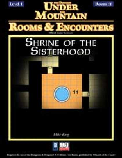 Role Playing Games - Rooms & Encounters: Shrine of the Sisterhood