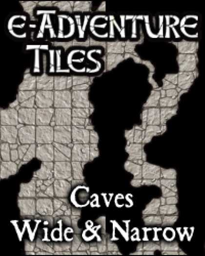 Role Playing Games - e-Adventure Tiles: Caves - Wide & Narrow