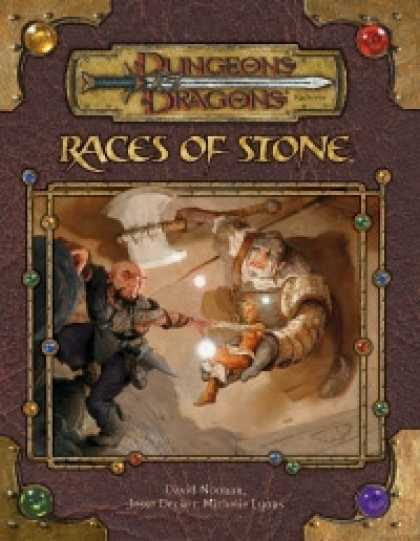 Role Playing Games - Races of Stone