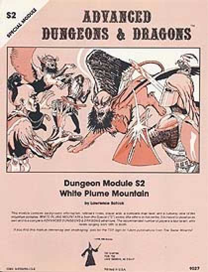 Role Playing Games - S2 - White Plume Mountain