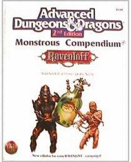 Role Playing Games - Monstrous Compendium 2 - Children of the Night