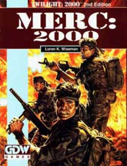 Role Playing Games - Merc: 2000