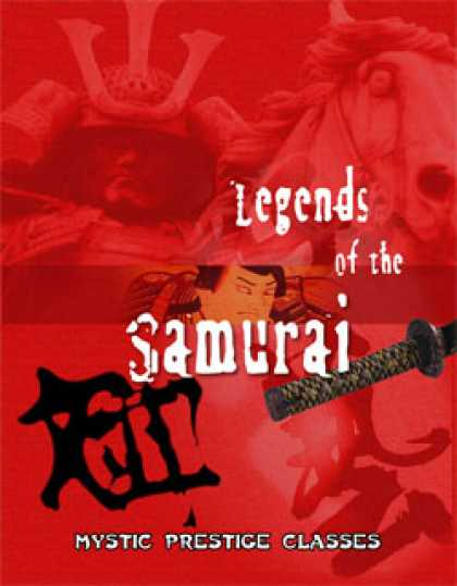 Role Playing Games - Legends of the Samurai: Mystic Prestige Classes