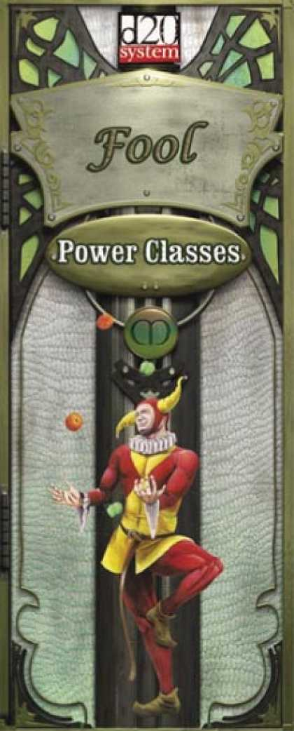 Role Playing Games - Power Class Fool