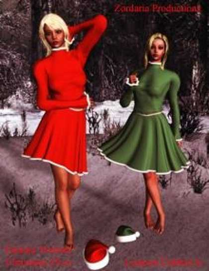 Role Playing Games - Fantasy Portrait: Christmas Elves