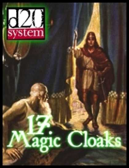 Role Playing Games - 17 Magic Cloaks