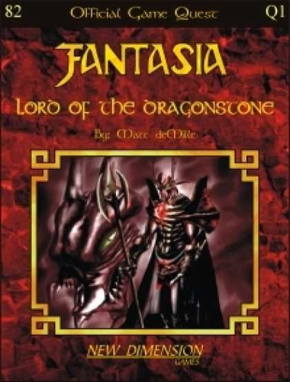 Role Playing Games - Fantasia: Lord Of The Dragonstone--Quest Q1