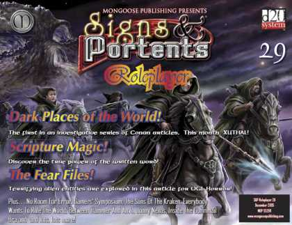 Role Playing Games - Signs & Portents Roleplayer 29