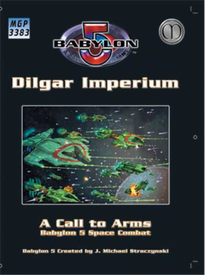Role Playing Games - Babylon 5: The Dilgar Imperium