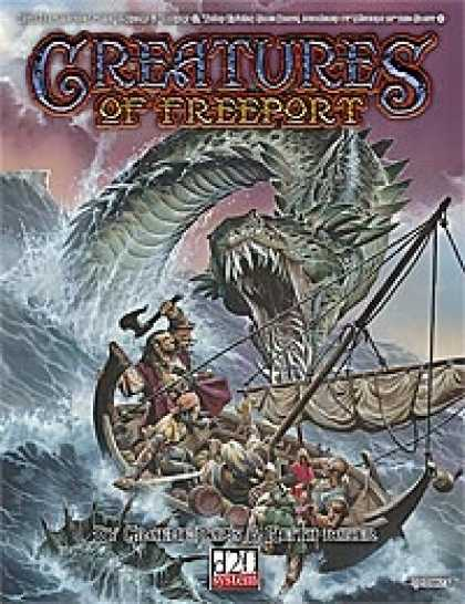 Role Playing Games - Creatures of Freeport