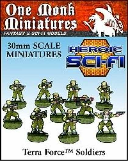 Role Playing Games - Terra Force Soldiers