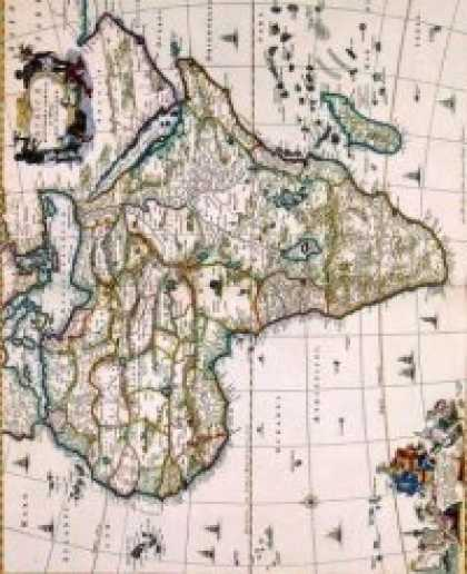 Role Playing Games - Antique Maps III - Africa of the 1600's