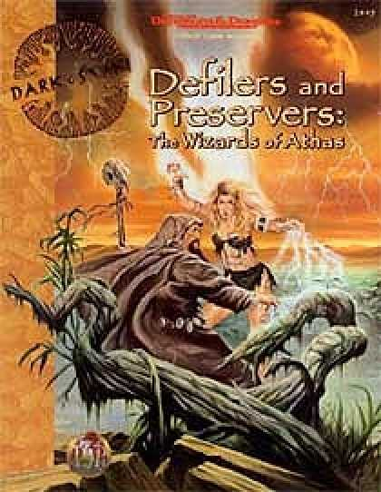 Role Playing Games - Defilers and Preservers - The Wizards of Athas