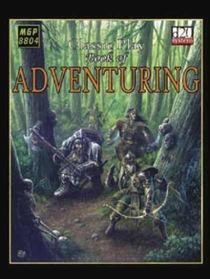 Role Playing Games - The Book of Adventuring