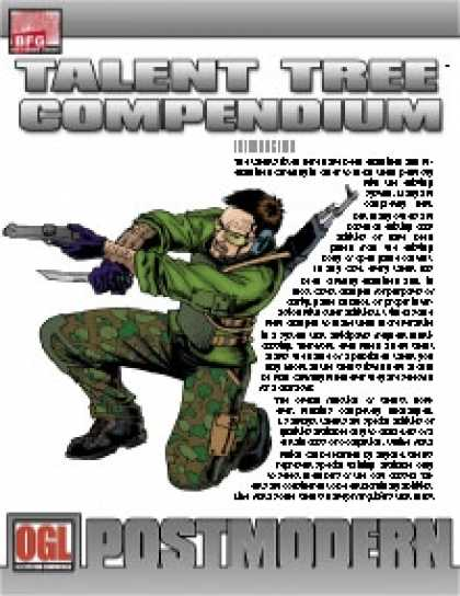 Role Playing Games - POSTMODERN: Talent Tree Compendium