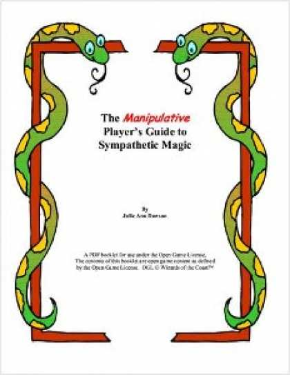Role Playing Games - The Manipulative Player's Guide to Sympathetic Magic
