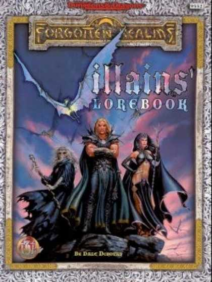 Role Playing Games - Villains' Lorebook
