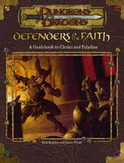 Role Playing Games - Defenders of the Faith: A Guidebook to Clerics and Paladins