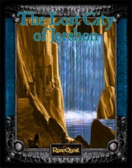 Role Playing Games - (RuneQuest) The Lost City of Jershon