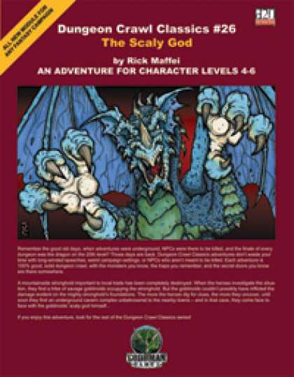 Role Playing Games - Dungeon Crawl Classics #26: The Scaly God