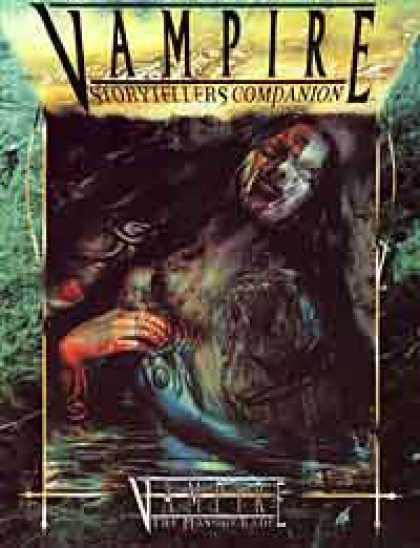 Role Playing Games - Vampire Storytellers Companion - Revised Edition (WW2301)