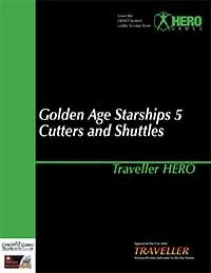Role Playing Games - Traveller Hero - Golden Age Starships 5 Cutters and Shuttles