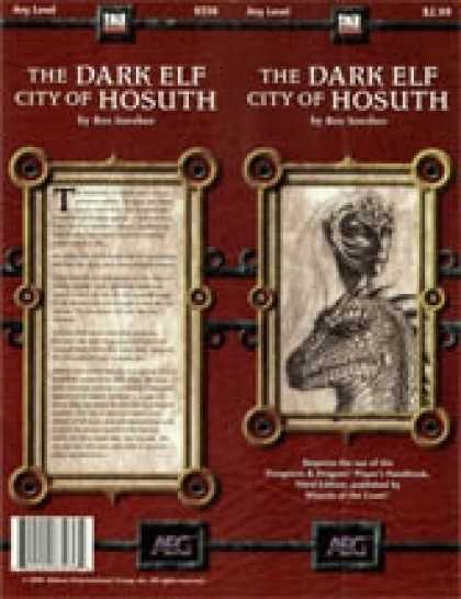 Role Playing Games - The Dark Elf City of Hosuth