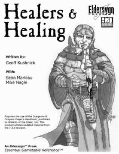 Role Playing Games - Healers & Healing