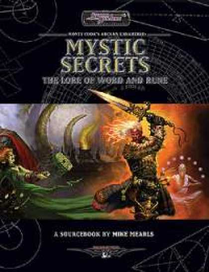 Role Playing Games - Mystic Secrets: The Lore of Word and Rune