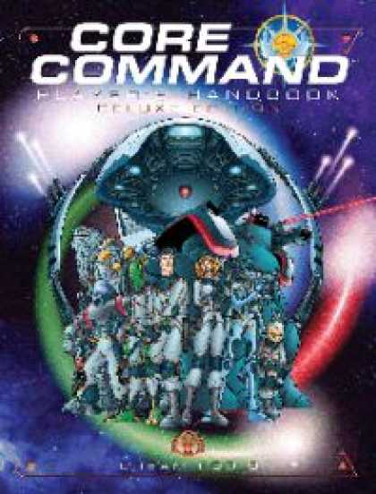 Role Playing Games - CORE Command Player's Handbook Deluxe Edition