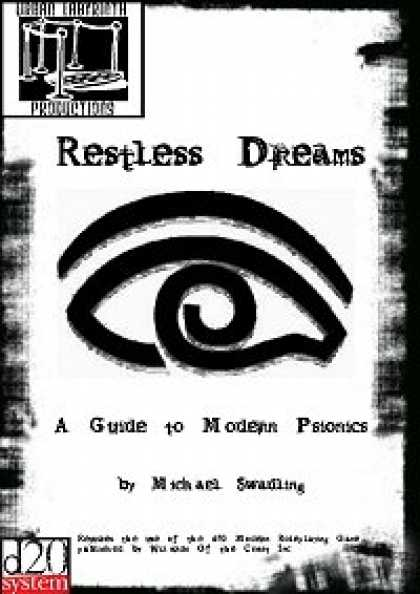 Role Playing Games - Restless Dreams: A Guide to Modern Psionics
