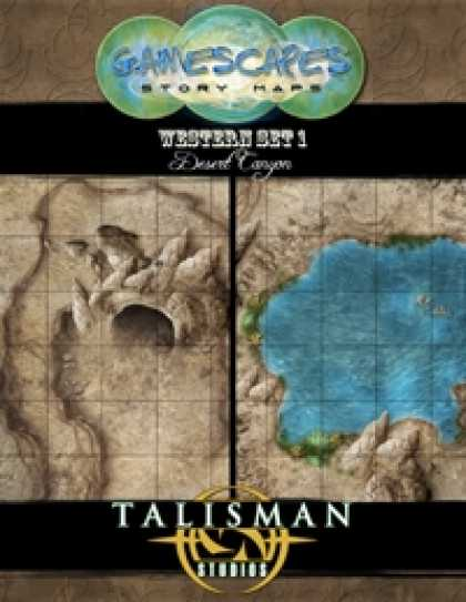 Role Playing Games - Gamescapes: Story Maps, Western Set 1