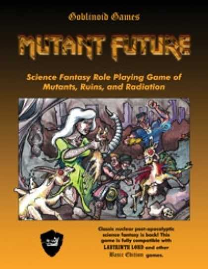 Role Playing Games - Mutant Future