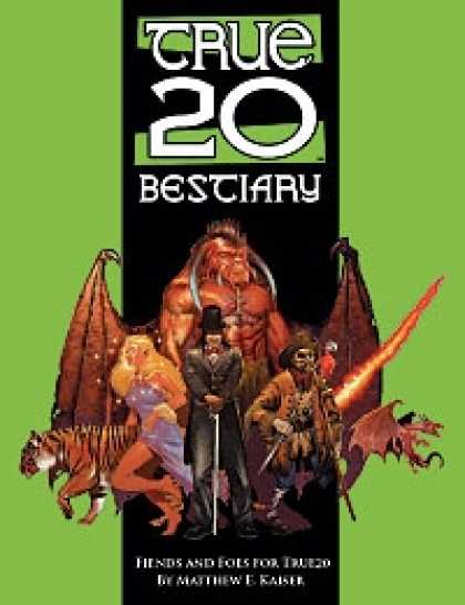 Role Playing Games - True20 Bestiary
