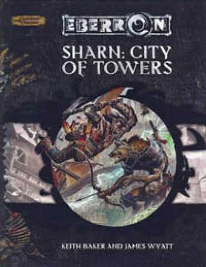 Role Playing Games - Eberron - Sharn: City of Towers