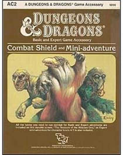 Role Playing Games - AC2 - Combat Shield and Mini Adventure